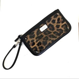 Nine West | Leopard Wristlet